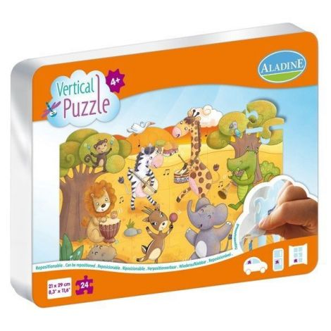 Puzzle vertical savana