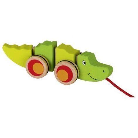 Jucarie de tras Crocodilul Groki