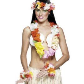 Set hawaii multicolor - marimea 128 cm