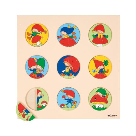 Puzzle Piticul la joaca - Educo