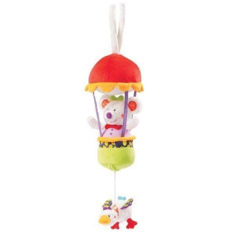 Jucarie muzicala soarece - brevi soft toys-070057