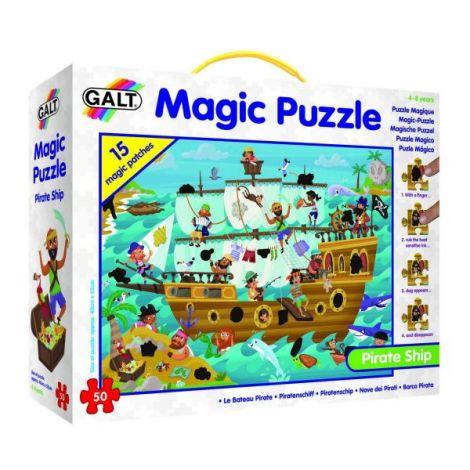 Magic puzzle - corabia piratilor (50 piese)