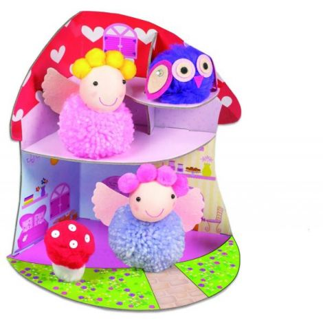 Set Creativ - Fairy Pompom House imagine