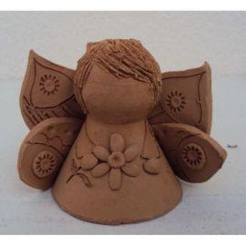 Clopotel ceramica inger 8 - 7x9cm, 100gr