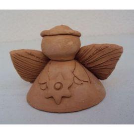 Clopotel ceramica inger 3 - 7x9cm, 100gr