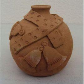 Glob ceramica pentru brad model 3 - 11x9cm, 230gr