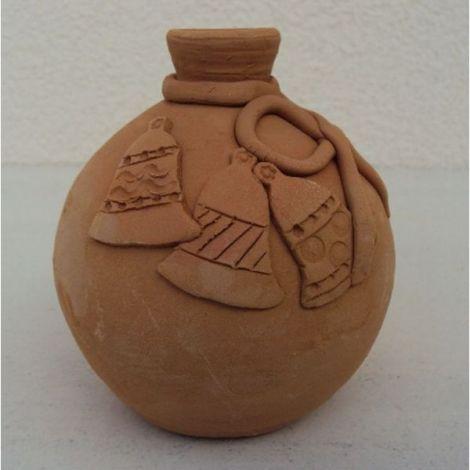Glob ceramica pentru brad model 2 - 11x9cm, 230gr
