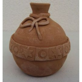 Glob ceramica pentru brad model 1 - 11x9cm, 230gr