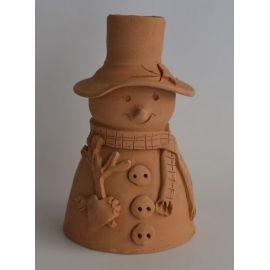 Decoratiune ceramica pentru masa om zapada 1 - 18x10cm, 400gr