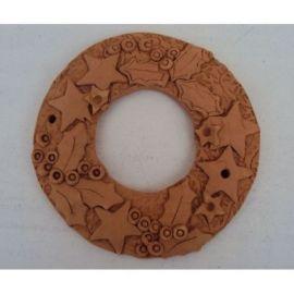 Decoratiune ceramica pentru perete coronita -