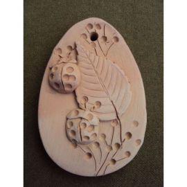 Magnet ou ceramica cu buburuze