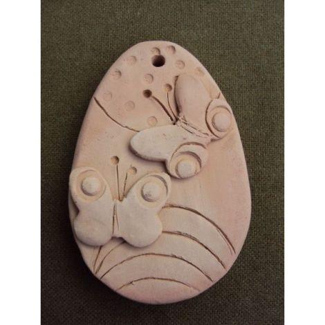 Magnet ou ceramica cu fluturi