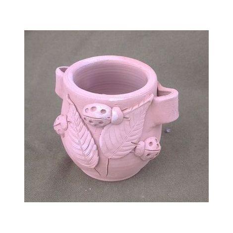 Vas ceramica cu manere