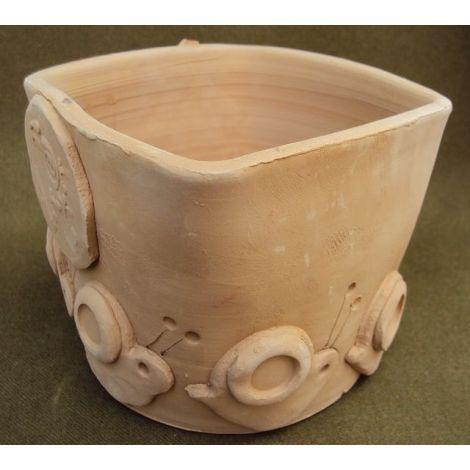 Ghiceci ceramica patrat cu melci