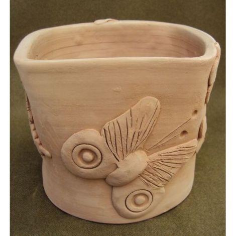 Ghiceci ceramica patrat cu fluturi