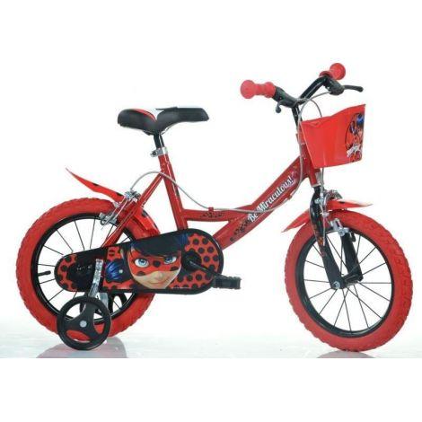 Bicicleta copii 14 miraculos-buburuza