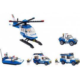 Set Politie pentru baieti Cubix Globo
