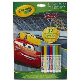 Carte de Colorat si Activitati Cars