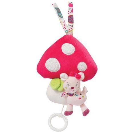 Jucarie muzicala ciuperca bambi - brevi soft toys-076073