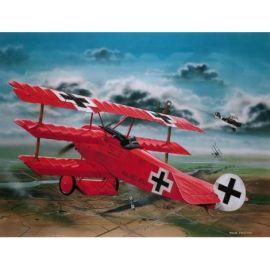 Macheta avion fokker dr. i al baronului richthofen rv4744