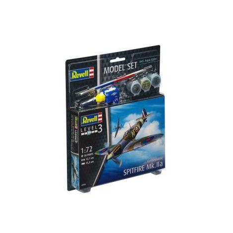 Model set avion spitfire mk.iia rv63953