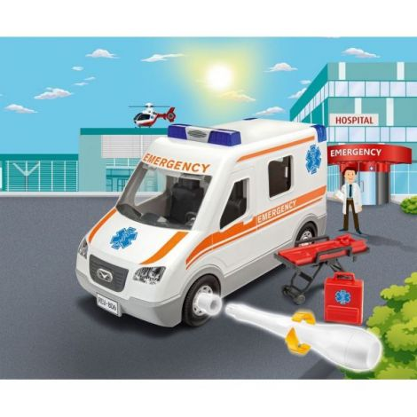Masinuta junior kit revell ambulanta rv0806