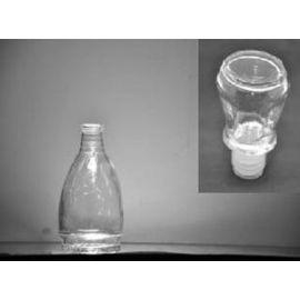 Flacon cu dop de sticla cu gatul ingust 250 ml