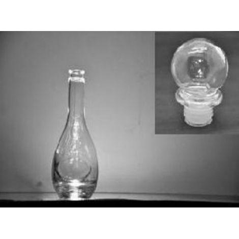 Sticla hobby cu dop de sticla 500ml(10)cr (650gr)