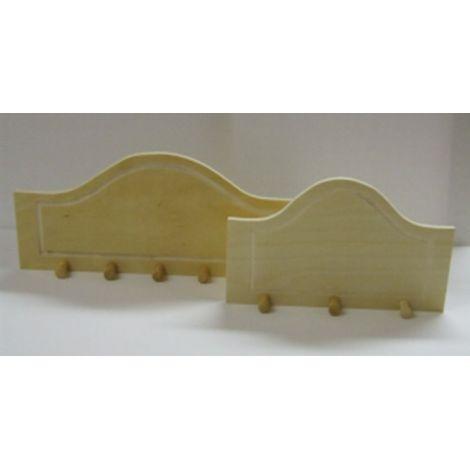 Cuier lemn 5 carlige