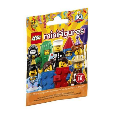 Minifigurine lego seria 18 'petrecere' l71021