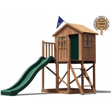 Spatiu de joaca din lemn Lil Lodge Dunster House