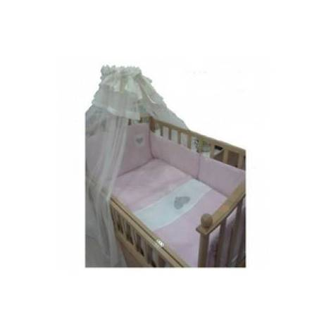 Lenjerie de pat nino 3-cuoricini pink