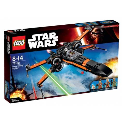Poe\'s X-Wing Fighter  (75102)