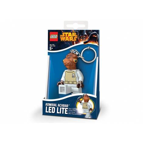 Breloc cu lanterna LEGO Star Wars Admiral Ackbar (LGL-KE59)
