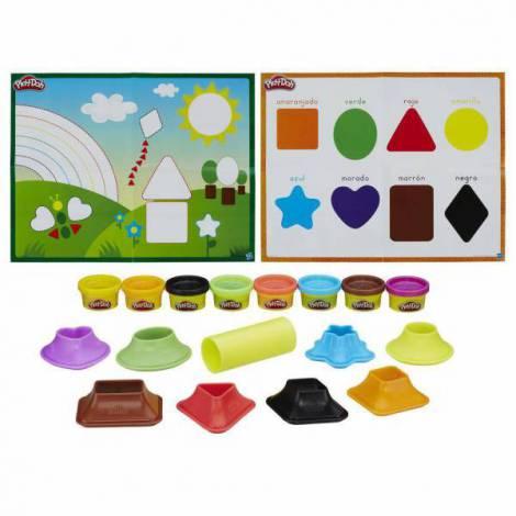 Set playdoh culori si forme hbb3404