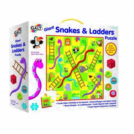 Puzzle de podea & joc - serpi si scari