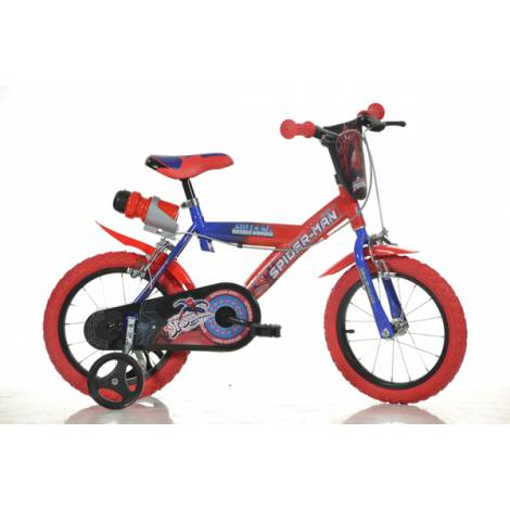 Bicicleta Spiderman mare - 16