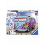 Puzzle 3d Dubita VW t1, 162 piese