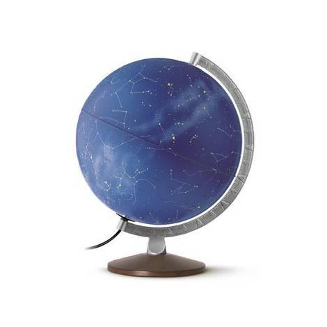 Glob iluminat Stelar Plus 30 cm - harta cu constelatii