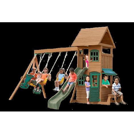 Complex de joaca din lemn Windale Kidkraft