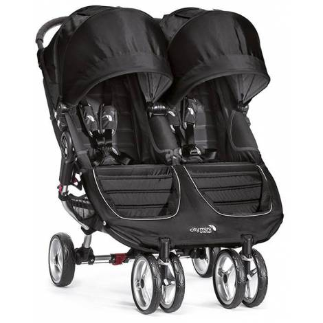Carucior gemeni City Mini 3 Double Black Grey