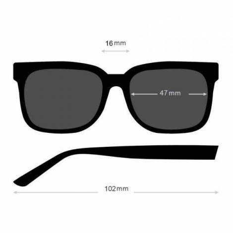 Ochelari de Soare Polaroid Nou-Nascuti PLD 8010 Roz