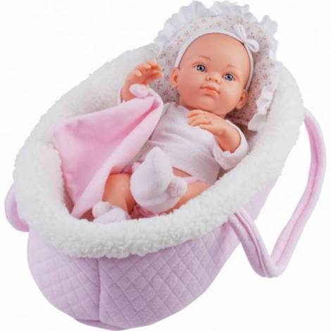 Papusa bebelus in cosulet roz - MINI PIKOLIN Paola Reina