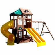 Complex de joaca din lemn Lookout Lodge Kidkraft