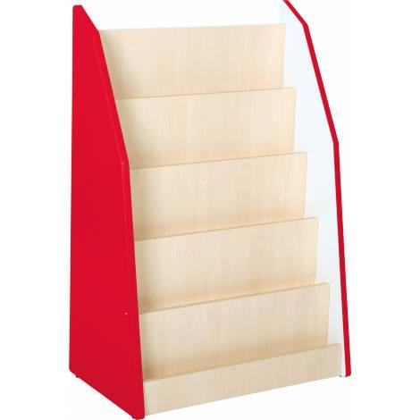 Quadro artar Biblioteca pentru gradinita culoare Rosu