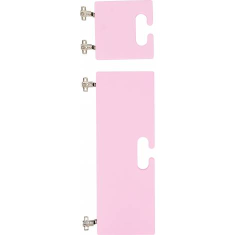 Set 2 usi pentru cuier - Chameleon - Roz Deschis