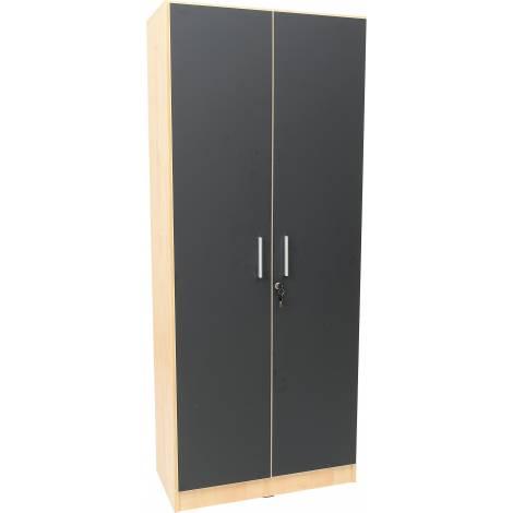 Set 2 usi Tabla magnetica neagra
