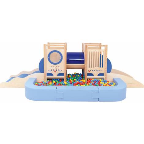 Colt de joaca interior Submarin cu piscina cu bile