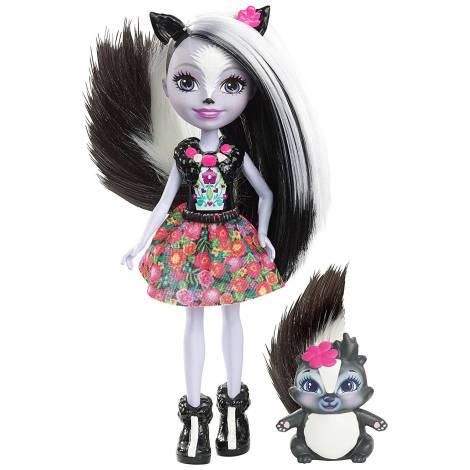 Papusa Mattel Enchantimals si prietenii ei, animalute