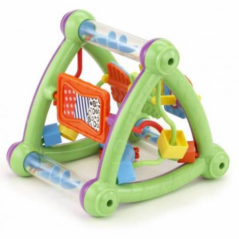 Centru de joaca triunghi - verde/violet